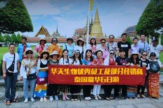 公司组织泰国豪华6日游
